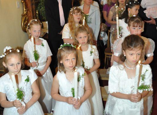 První svaté přijímání 2012