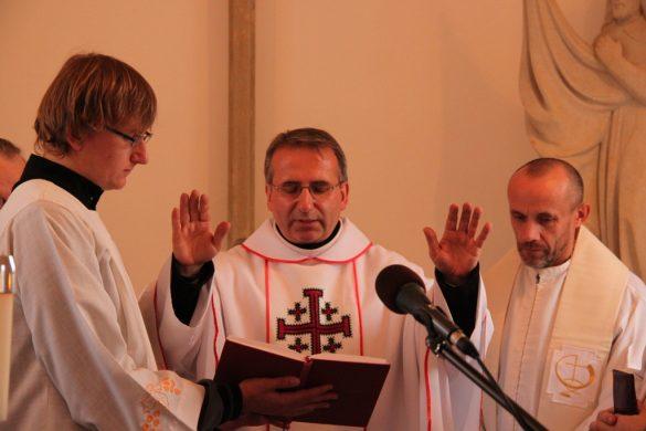 Svěcení kaple sv. Václava