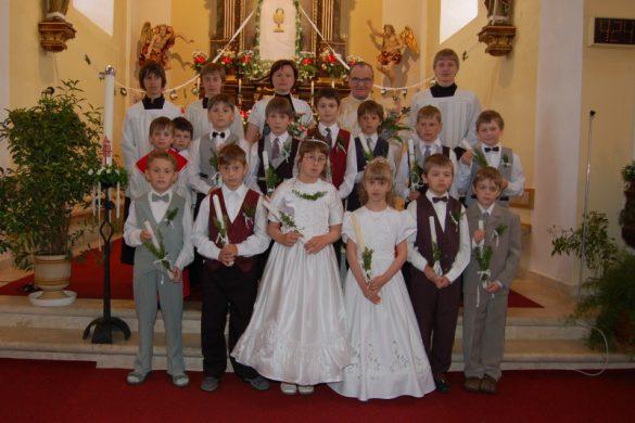 První svaté přijímání 2010