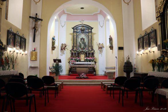 Fotky kostela a fary 2019